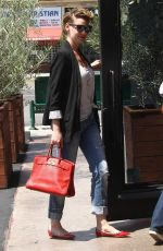 KATHERINE HEIGL Out for Lunch in Los Angeles 04/13/2016