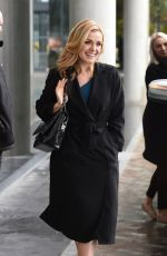 KATHERINE JENKINS Arrives at BBC Breakfast in Manchester 04/25/2016