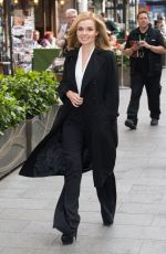 KATHERINE JENKINS Arrives at Global House in London 04/21/2016