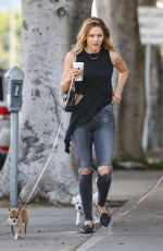 KATHERINE MCPHEE Out and About in Beverly Hills 04/12/2016