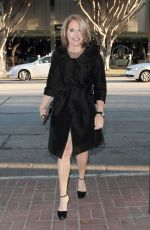 KATIE COURIC at Madeo Restaurant in Hollywood 04/12/2016