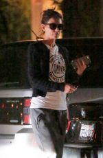KATIE HOLMES Out and About in Calabasas 04/01/2016