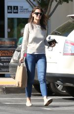 KATIE HOLMES Out Shopping in Agoura Hills 04/02/2016
