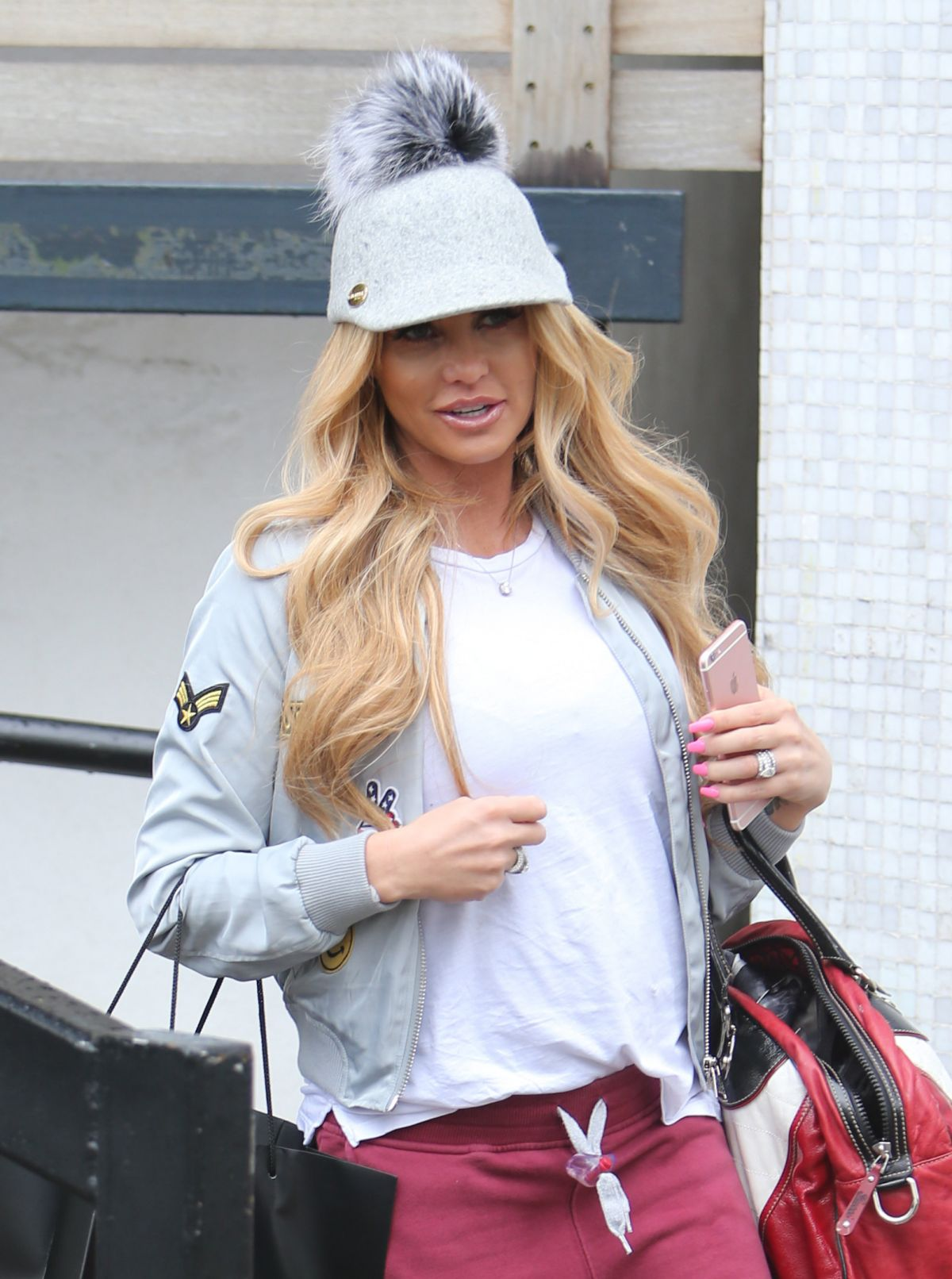 KATIE PRICE Leaves ITV Studios in London 04/26/2016