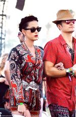 KATY PERRY at Coachella in Indio 04/17/2016