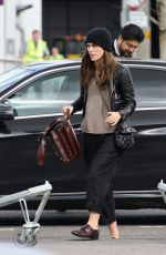 KEIRA KNIGHTLEY Arrives at Heathrow Airport to New York 04/02/2016