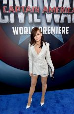 KELLI BERGLUND at Captain America: Civil War Premiere in Los Angeles 04/12/2016