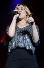 KELLIE PICKLER Performs at 4th ACM Party for a Cause Festival in Las Vegas 04/01/2016