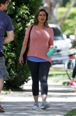 KELLY BROOK on the Set of Skeckers Commercial in Beverly Hills 04/19/2016