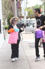 KELLY OSBOURNE Arrives at Au Fudge in West Hollywood 04/24/2016