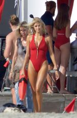 KELLY ROHRBACH on the Set of