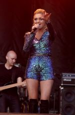KELSEA BALLERINI Performs at 4th ACM Party for a Cause Festival in Las Vegas 04/01/2016