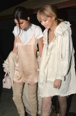 KENDALL JENNER and GIGI HADID Leaves Nice Guy in West Hollywood 04/09/2016
