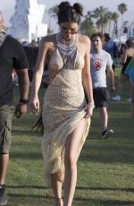 KENDALL JENNER at Coachella Valley Music and Arts Festival in Indio 04/15/2016