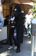 KENDALL JENNER at Il Pastio in Beverly Hills 03/31/2016