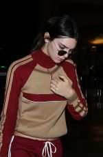 KENDALL JENNER at Los Angeles International Airport 04/17/2016