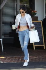 KENDALL JENNER in Ripped Jeans Out in West Hollywood 04/26/2016