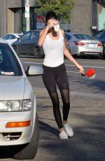 KENDALL JENNER Leaves Yoga Studio in Hollywood 03/26/2016