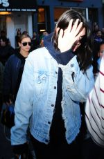 KENDALL JENNER Out in New York 03/29/2016