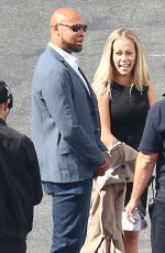 KENDRA WILKINSON at DWTS Studio in Los Angeles 04/04/2016