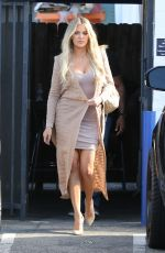KHLOE KARDASHIAN Leaves a Studio in Van Nuys 04/27/2016