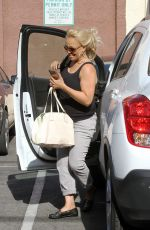 KIM FIELDS Arrives at DWTS Studios in Hollywood 04/27/2016