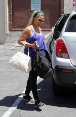 KIM FIELDS at DWTS Practice in Hollywood 04/23/2016