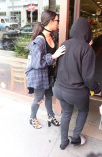 KIM KARDASHIAN and BLAC CHYNA Out in Beverly Hills 04/26/2016