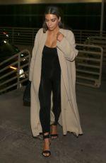 KIM KARDASHIAN Arrives at Her Hotel in Las Vegas 04/10/2016