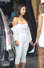 KIM KARDASHIAN Out and About in Miami 04/23/2016