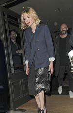 KIRSTEN DUNST Leaves Covent Garden Hotel in London 03/31/2016
