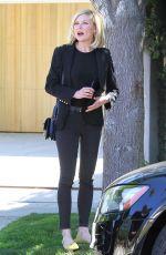 KIRSTEN DUNST Leaves Her House in Los Angeles 04/02/2016