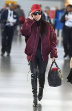 KOURTNEY KARDASHIAN at LAX Airport in Los Angeles 04/18/2016