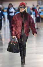 KOURTNEY KARDASHIAN at LAX Airport in Los Angeles 04/18/2016