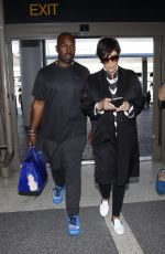 KRIS JENNER at LAX Airport in Los Angeles 04/10/2016
