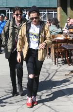 KRISTEN STEWART and SoKo Out in New York 04/13/2016
