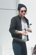 KRISTEN STEWART Out and About in Beverly Hills 04/29/2016
