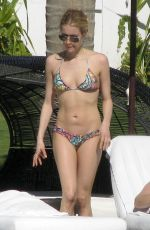 KRISTIN CAVALLARI in Bikini at a Pool in Mexico 04/04/2016