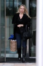 KRISTINA RIHANOFF Out and About in London 03/10/2016