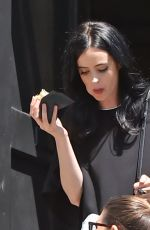 KRYSTEN RITTER Out and About in Santa Monica 04/05/2016