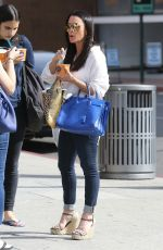 KYLE RICHARDS Out and About in Beverly Hills 04/19/2016