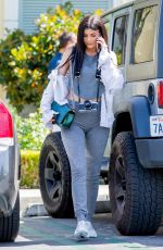 KYLIE JENNER at Le Pain Quotidien in Calabasas 04/22/2016