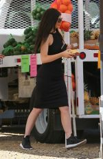 KYLIE JENNER Buys Some Fresh Fruit in Malibu 04/24/2016