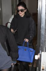 KYLIE JENNER Leaves a Photoshoot in Los Angeles 03/29/2016