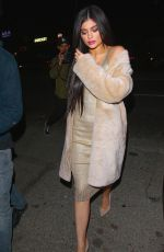 KYLIE JENNER Leaves Nice Guy in West Hollywood 04/02/2016