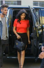 KYLIE JENNER Out and About in Beverly Hills 03/31/2016