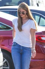 LANA DEL REY in Jeans Out in Los Angeles 04/22/2016