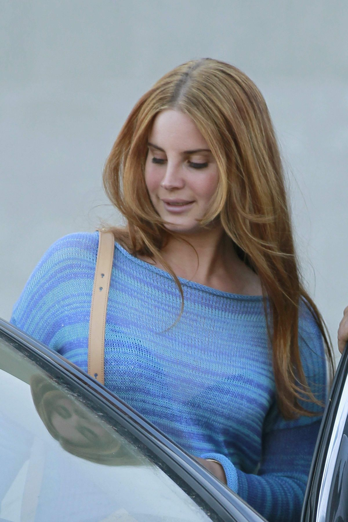 LANA DEL REY Out for Lunch at Cecconi