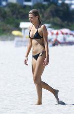 LARA STONE in Bikini on the Set of a Photoshoot in Miami Beach 04/29/2016