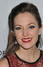 LAURA OSNES at American Psycho Broadway Opening Night in New York 04/21/2016